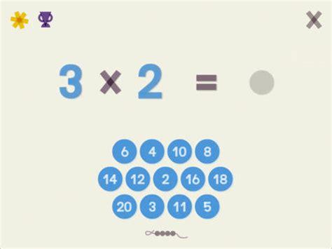 application table de multiplication r 233 viser ses tables de multiplication learning maths app