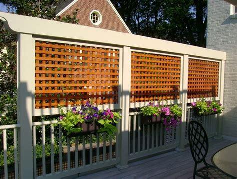 grigliati terrazzo grigliati in legno per balcone grigliati per giardino