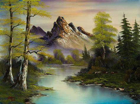 bob ross painting uk c manzaralar bob ross and paintings