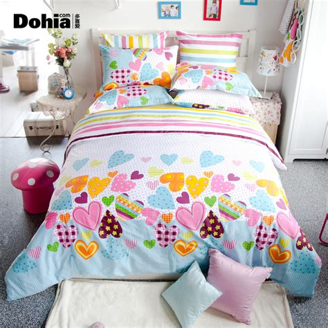 heart bedding heart rustic bedding honey girl duvet cover korean
