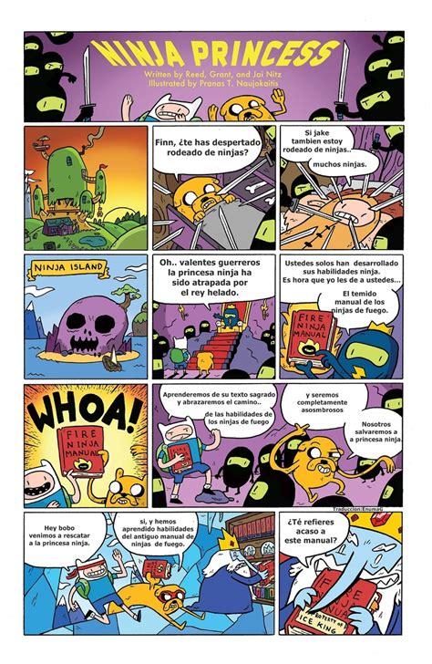 scow en espanol aporte at comics historias cortas espa 241 ol hora de