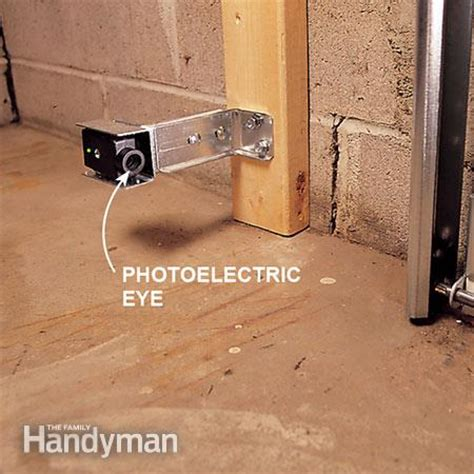 how to install a garage door the family handyman