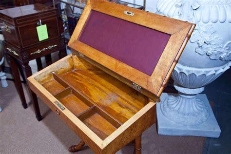 Bamboo Corner Desk Maple Faux Bamboo Corner Desk For Sale At 1stdibs