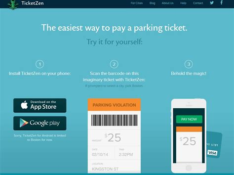 How To Pay Late Mba Parking Ticket ticketzen the easiest way to pay a boston parking ticket