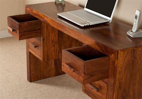 Sheesham Computer Desk Sheesham Desk Wood Computer Table Home Office Furniture Casa Furniture Uk