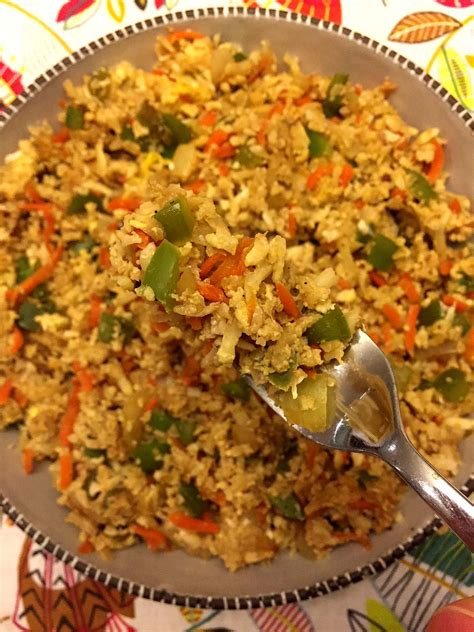cauliflower fried rice recipe melanie cooks