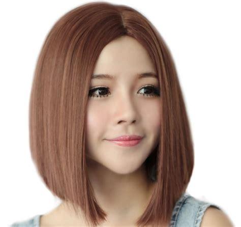Frem Korea Bulat Oval Terbaru 7 model rambut pendek wanita terbaru dan masa kini