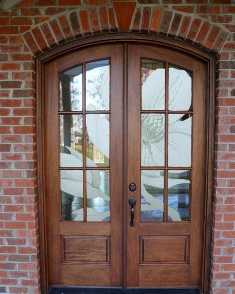 Glass For Front Doors Glass Wooden Door Fascinating Front Porch Decoration With Glass Entry Doors Looking