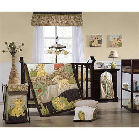 Simba Crib Bedding Set by Baby Simba And Nala The King Baby Shower And