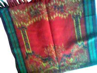 Kemeja Tenun Baron Warna Merah kain sajadah cv tenun indonesia