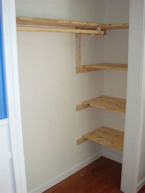 closet shelving ideas 25 best ideas about small closet storage on pinterest