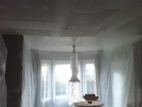 Removing Ceiling Drywall by Popcorn Ceiling Removal Nc