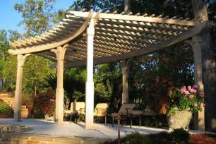 Curved Pergola Designs by Curved Pergola Pictures To Pin On Pinterest