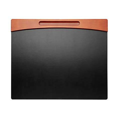 office depot desk pad rolodex wood faux leather desk pad mahogany by office