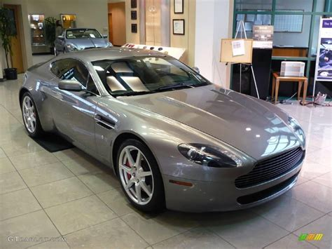 2006 Aston Martin V8 Vantage by 2006 Tungsten Silver Aston Martin V8 Vantage Coupe