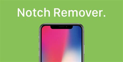 iphone notch notch remover app for iphone x from app store