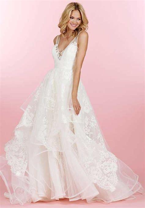 hayley paige bridal dresses wedding photos refinery29 hayley paige wedding dresses