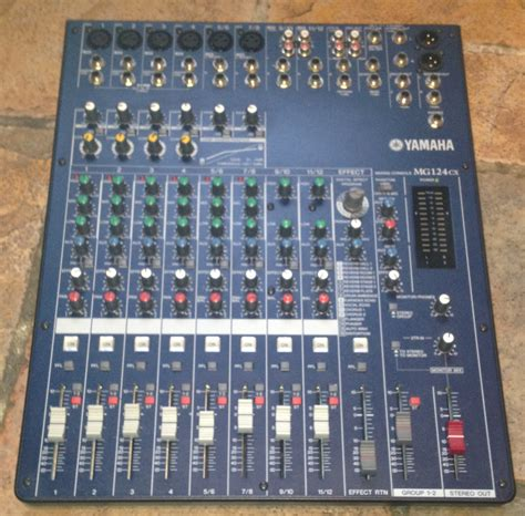 Mixer Yamaha Mg 124 Cx yamaha mg124cx image 727018 audiofanzine