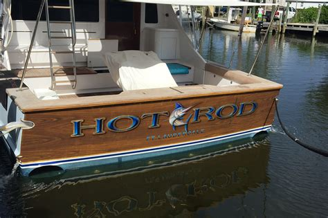 boat stern transom hot rod ft lauderdale boat transom boats transom
