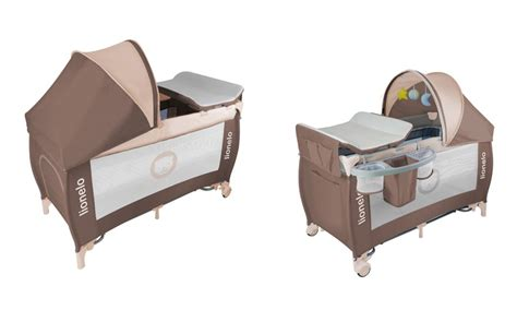 culle da viaggio per neonati fino a 35 su o lettino da viaggio lionelo groupon