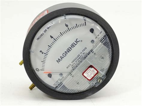Magnehelic 0 500 Pascal dwyer 2008 magnehelic differential pressure 0 8 quot recycledgoods