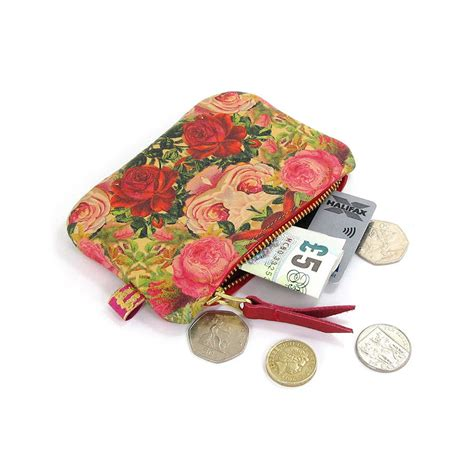 decoupage leather printed leather purse decoupage roses by tovi sorga