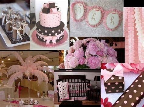 Pink And Brown Decorations by Pink And Brown Bug Baby Shower Decorations For Baby Baby Shower Ideas
