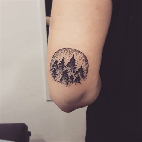 simple tree tattoo 75 simple and easy pine tree designs meanings