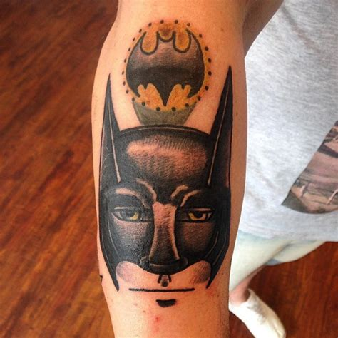 batman mask tattoo thailand 100 best batman symbol tattoo ideas comic superhero 2018