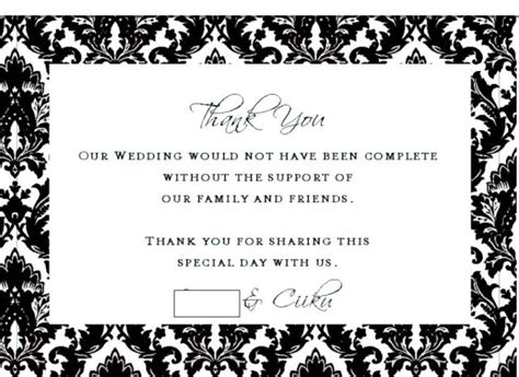 thank you wording for wedding gift of money best 25 thank you card wording ideas on