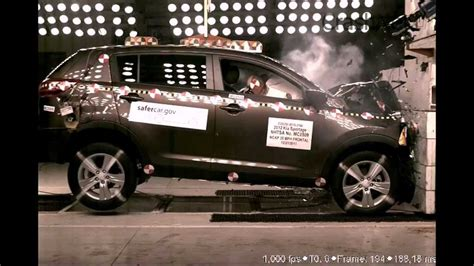 Kia Sportage Crash Test Kia Sportage 2012 Frontal Crash Test By Nhtsa