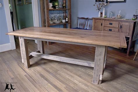 A Farm Table by Artistic And Unique Diy Farmhouse Table Ideas
