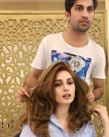 hairstyl wajad khan iman ali s new hair cut by stylist wajid khan