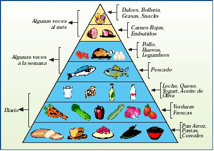 piramides de los alimentos piramides de alimentos imagui