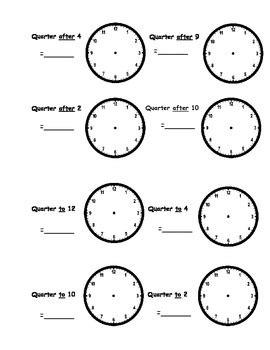 clock worksheets o clock and half past telling time worksheets o clock half past quarter to