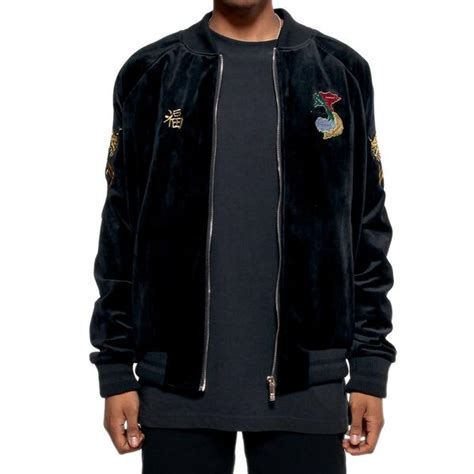 Story Jaket Restock by Velvet Embroidery Bomber Souvenir Vintage Jacket