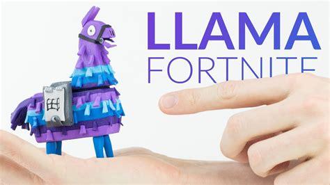 supply llama chest fortnite battle royale polymer clay