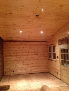 pine car siding rec room remodel   basement