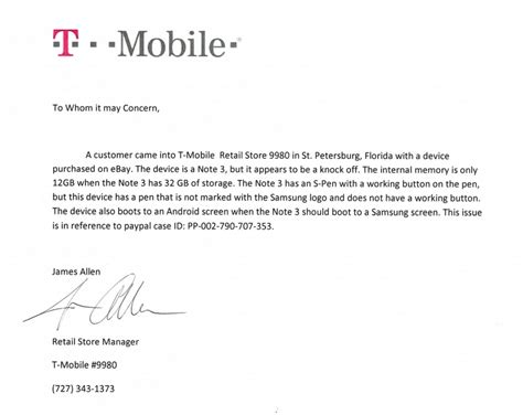 T Mobile Letter Of Credit how to tell a samsung galaxy note 3