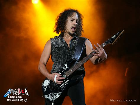 kirk hammett singing my taste in heavy metal metallica fever