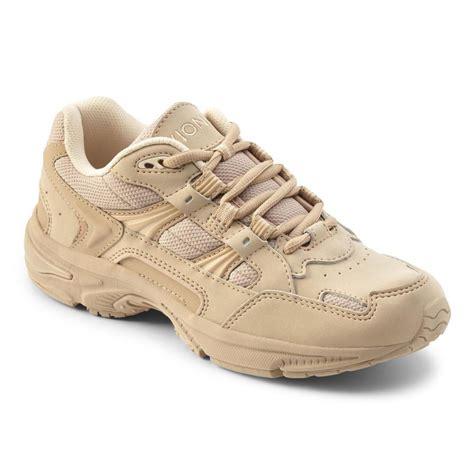 Vionic Walker Women S Plantar Fasciitis Shoe Taupe Planters Fasciitis Shoes