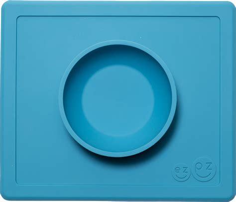 Ezpz Happy Mat Blue ezpz happy mat placemat bowl blue