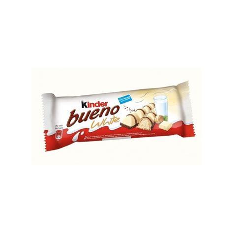kinder bueno white chocolat blanc