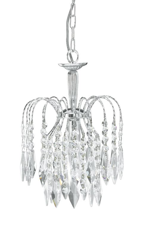 Small Chrome Chandelier Waterfall Small Chandelier Chrome