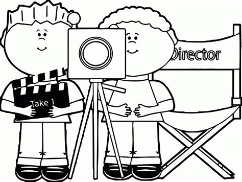 video camera coloring page camera coloring pages 550706