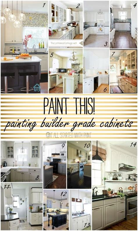 kitchen cabinet grades paint this builder grade cabinets how to paint