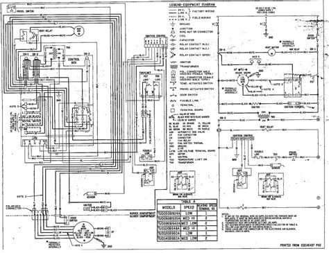 diagram trane weathertron thermostat wiring diagram with