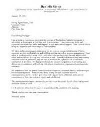 Cover Letter Medical Sales Representative Cover Letter How To Write Sales Rep Cover Letter Resume