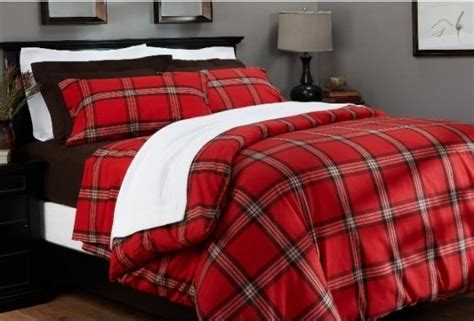 red plaid bedding red flannel plaid bedding mr carter pinterest