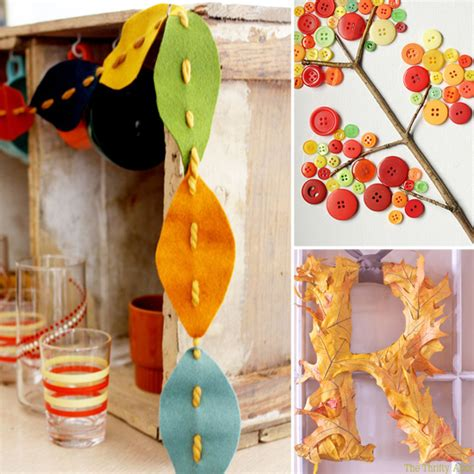crafts for fall decorations creative and easy diy decor projects for fall popsugar